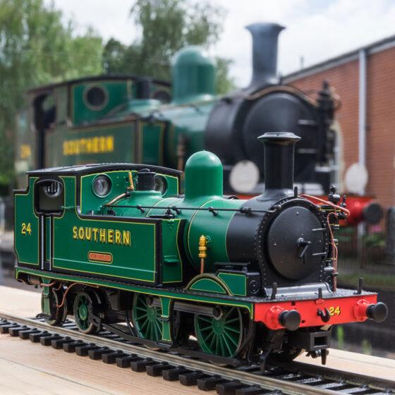 EFE Rail LSWR Adams 02 Class No. 24 'Calbourne', SR Malachite Green